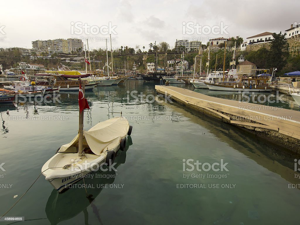 Antalya port royalty-free stock photo