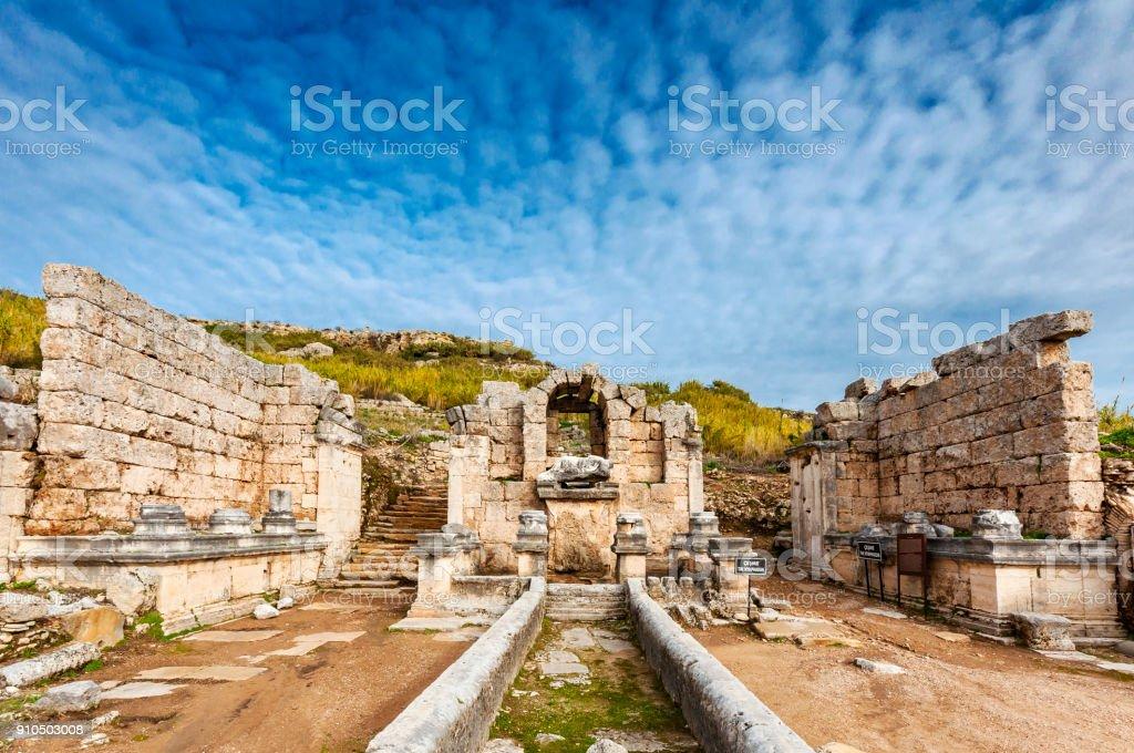 Antalya Province in Turkey stock photo