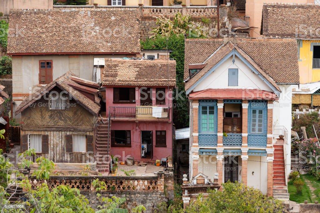Cityscape d'Antananarivo, capitale de Madagascar - Photo