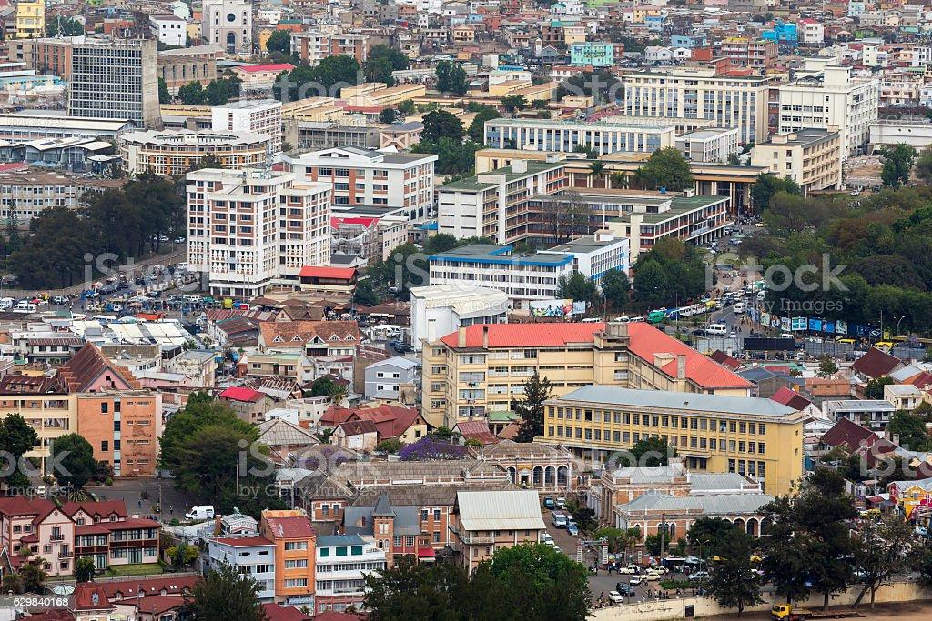Antananarivo cityscape, Tana, capital of Madagascar - Photo