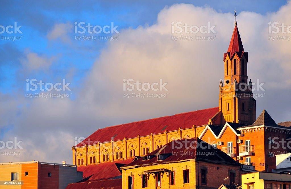 Antananarivo, Madagascar: Faravohitra church - Photo