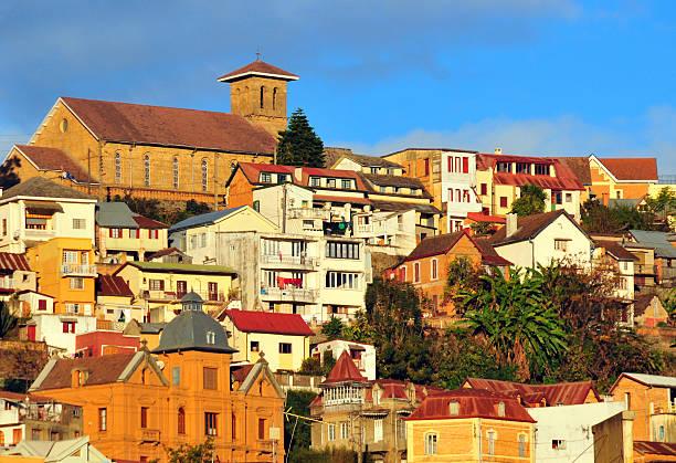 Antananarivo, Madagascar: Faravohitra church stock photo