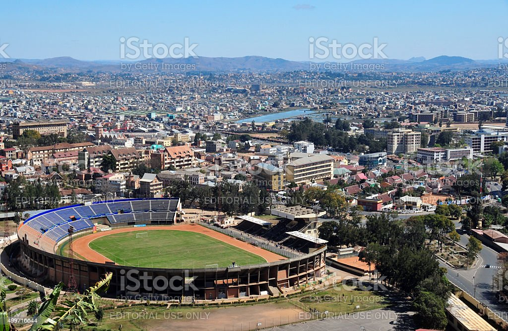 Antananarivo, Madagascar: Au-dessus de - Photo