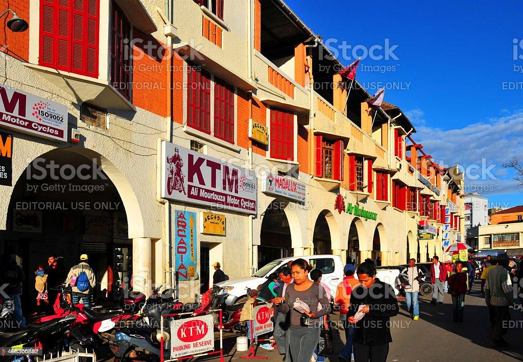 Antananarivo, Madagascar: Independence avenue stock photo