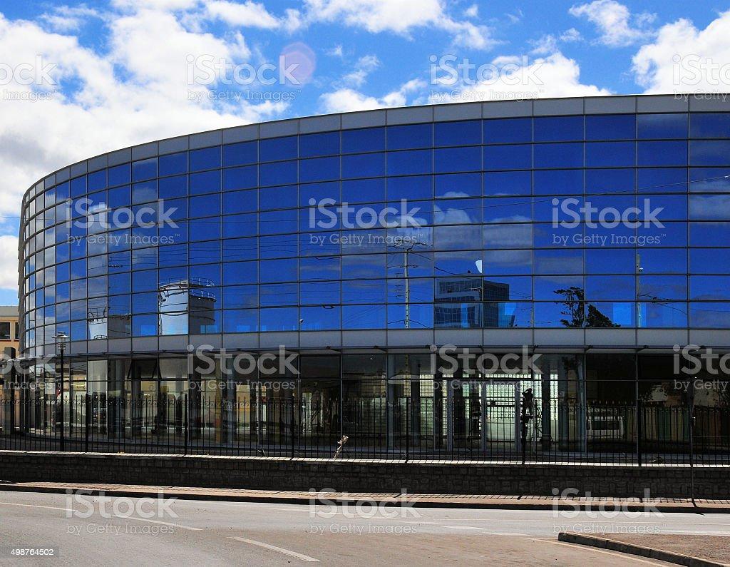 Antananarivo, Madagascar: modern commercial building stock photo