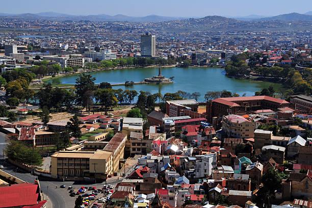 Antananarivo, Madagascar: skyline stock photo