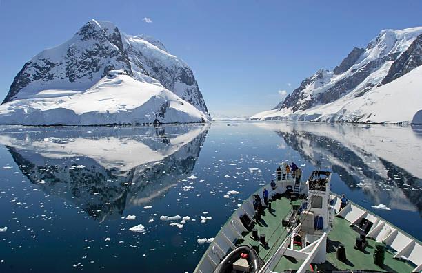Crucero antártico - foto de stock
