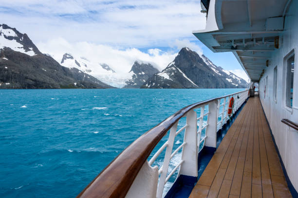 Antarctic Cruising stock photo