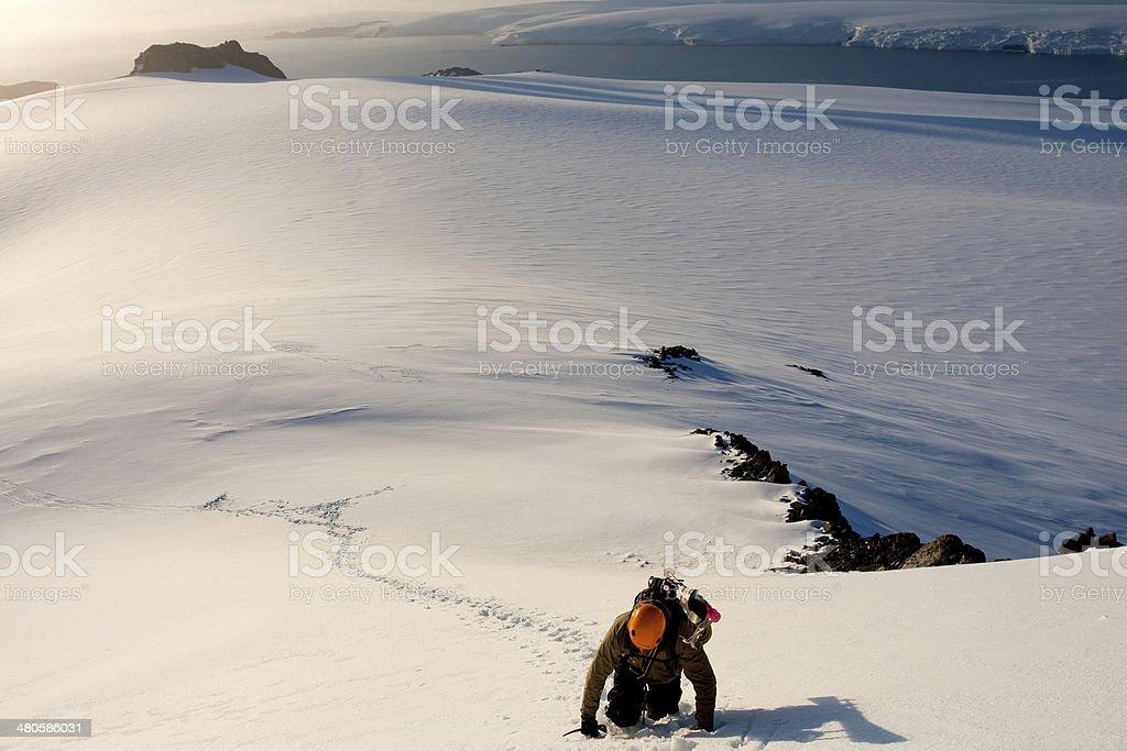 Antarctic Exploration royalty-free stock photo