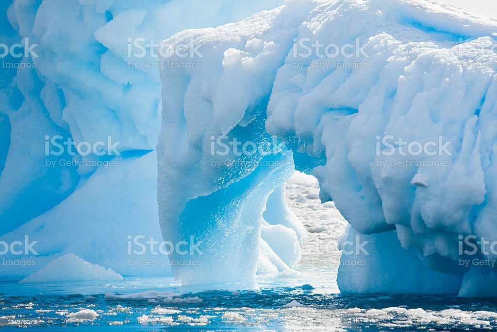 Antarctic Glacier royalty-free stock photo