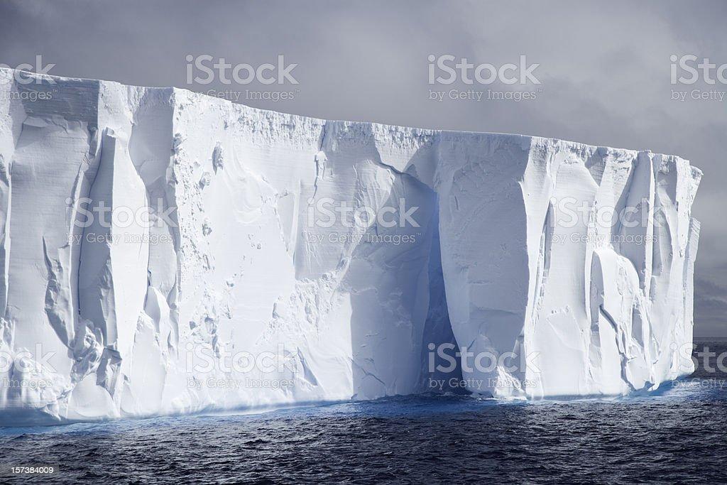 Antarctic Iceberg Detail royalty-free stock photo