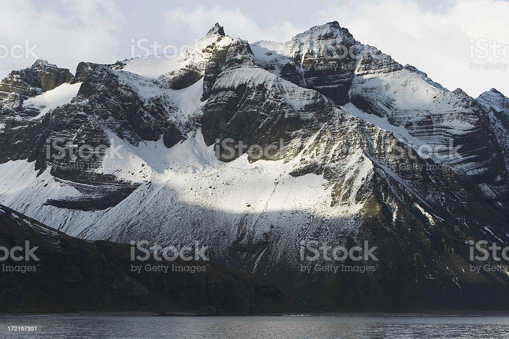 Antarctic Mountain royalty-free stock photo