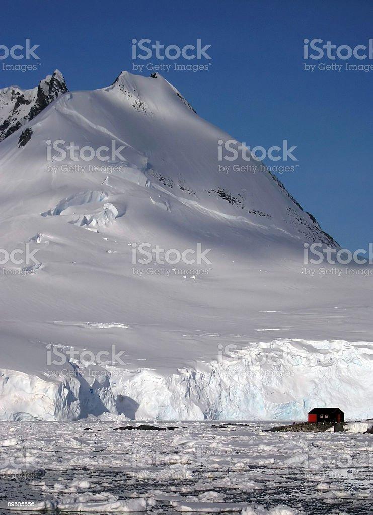 Antartico Post ufficio foto stock royalty-free