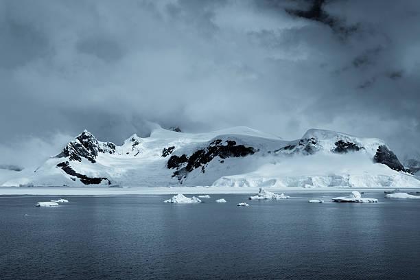 Antarctic Wilderness stock photo