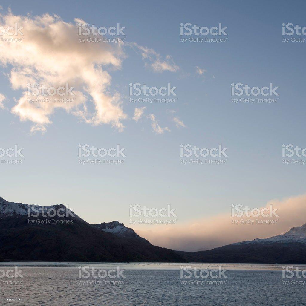 Antarctica Dawn royalty-free stock photo