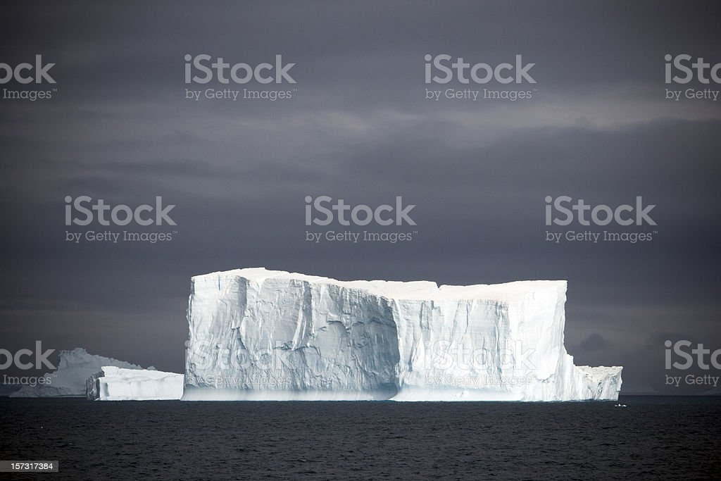 Antarctica Iceberg stock photo