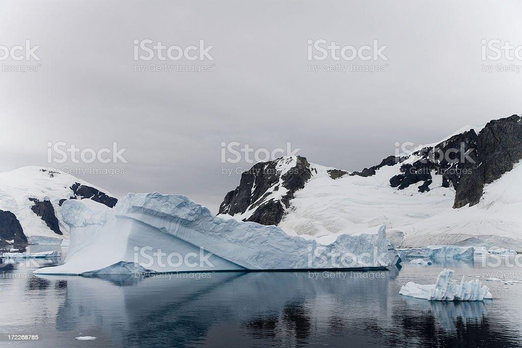 Antarctica Icebergs royalty-free stock photo