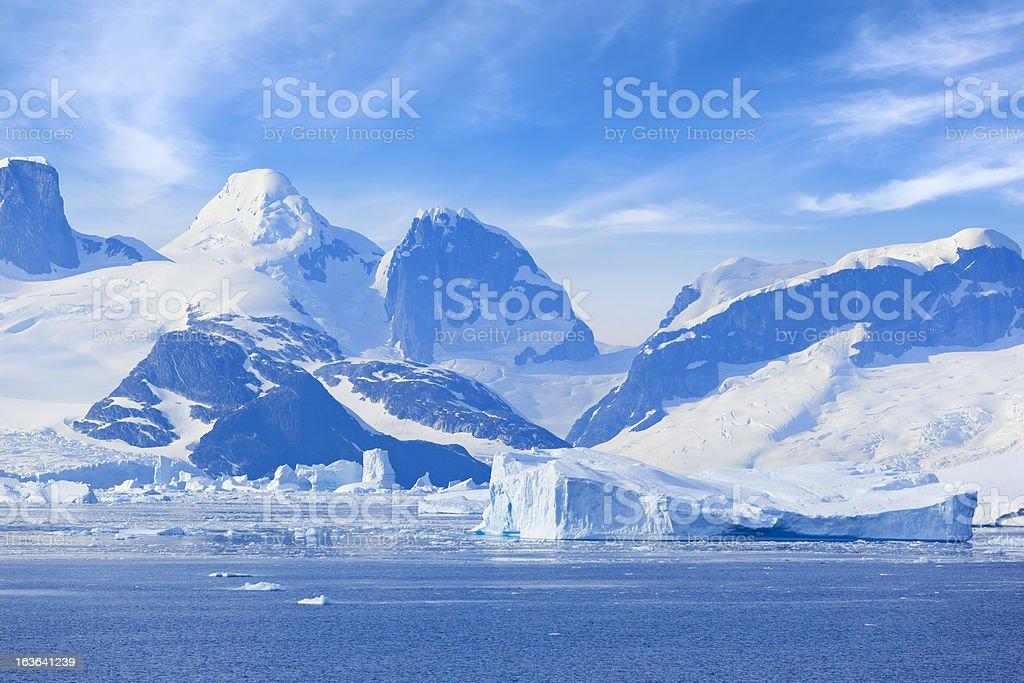 Antarctica Lemaire Channel Mountain圖像檔