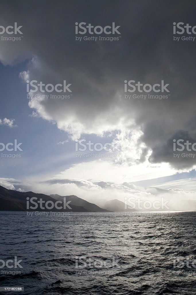 Antarctica Light and Shadow royalty-free stock photo