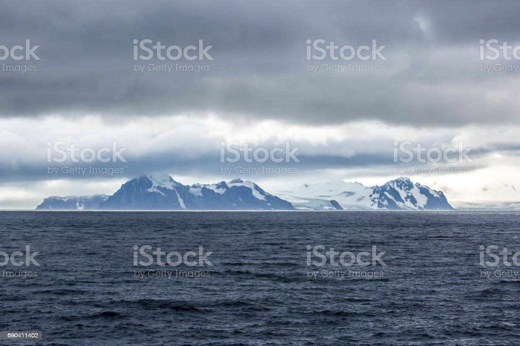 Antarctica: Livingstone Island stock photo