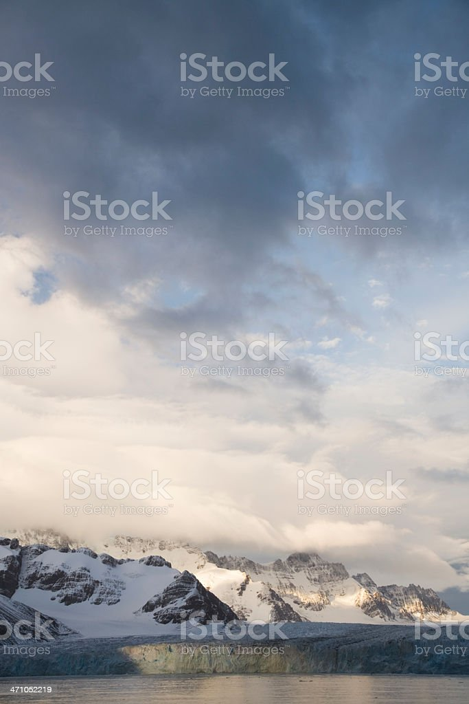 Antarctica Mountains royalty-free stock photo