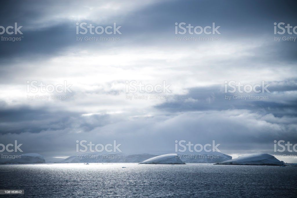 Antarctica Natural Scene royalty-free stock photo