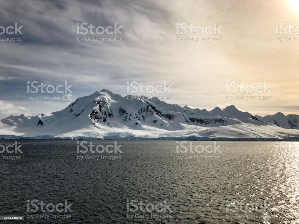 Antarktis-Panorama – Foto
