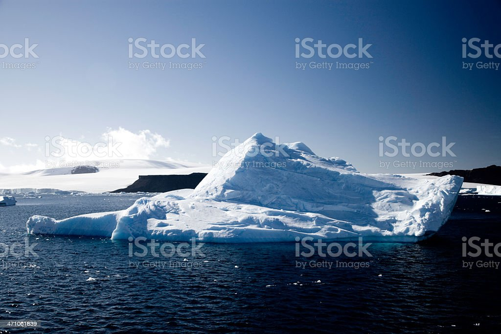 Antarctica Peninsula Iceberg royalty-free stock photo