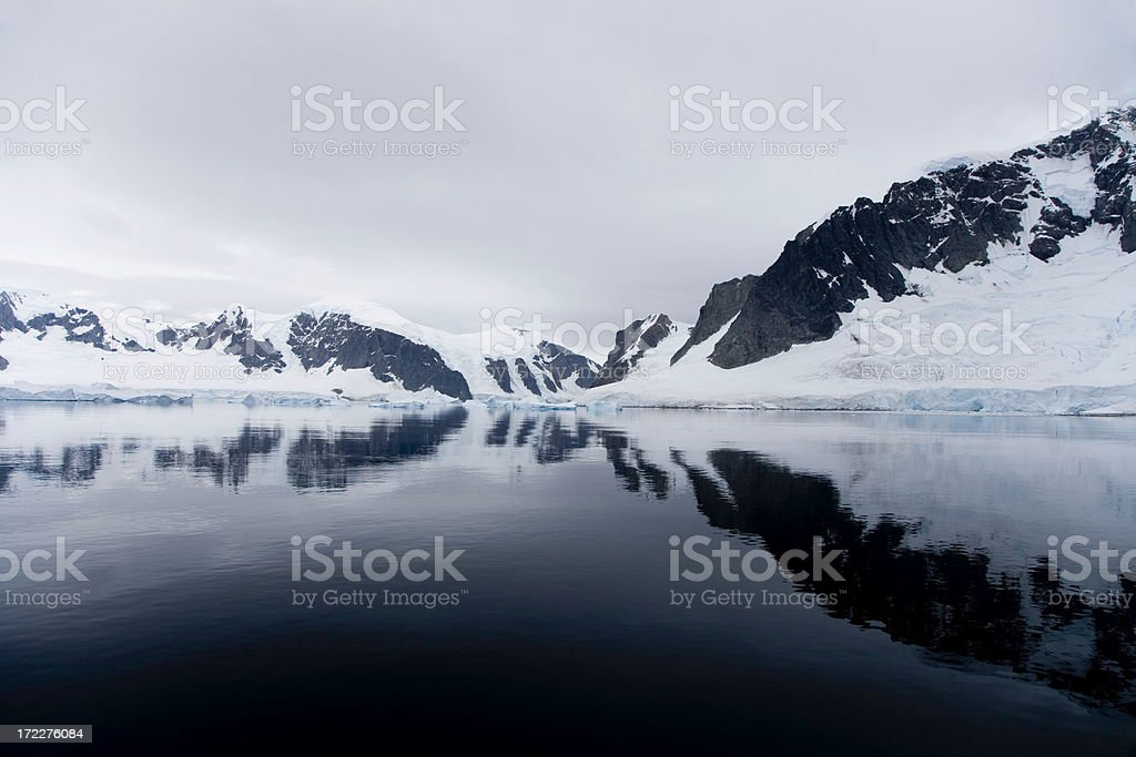 Antarctica Reflections royalty-free stock photo