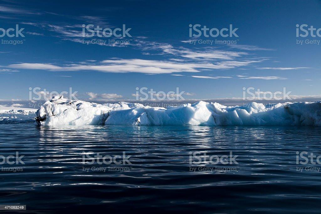 Antarctica Seascape royalty-free stock photo