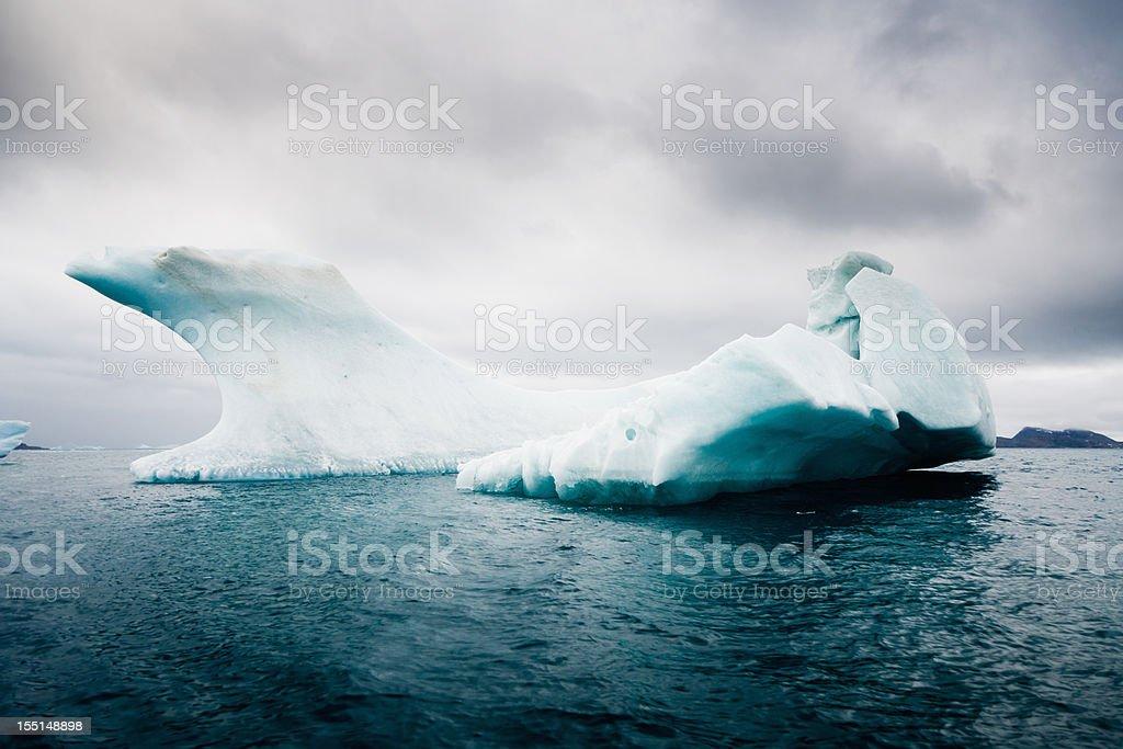 Antarctica South Pole Iceberg in the Sea  Antarctica Stock Photo