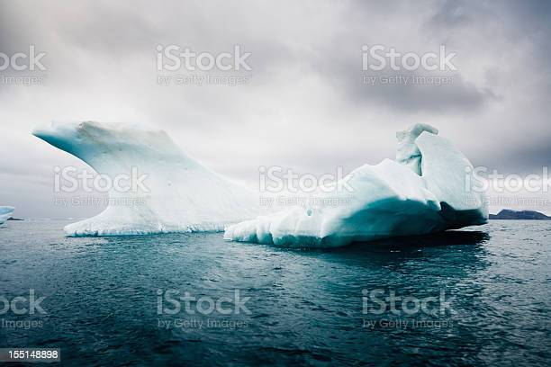 Antarctica South Pole Iceberg In The Sea Stock Photo - Download Image Now