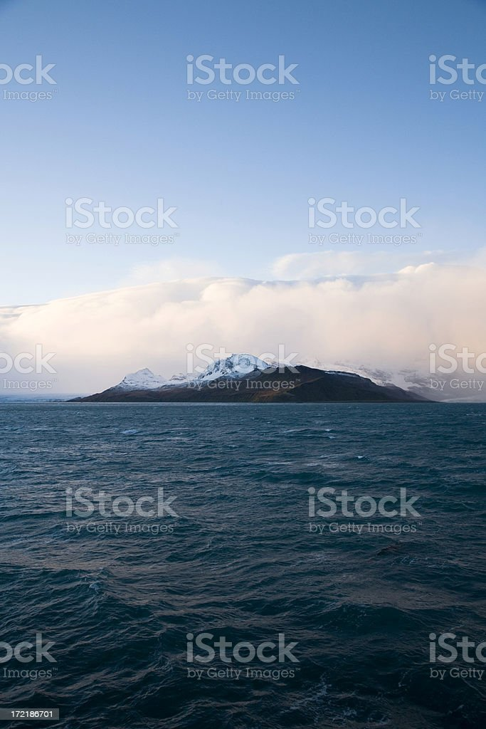 Antarctica Sunrise royalty-free stock photo