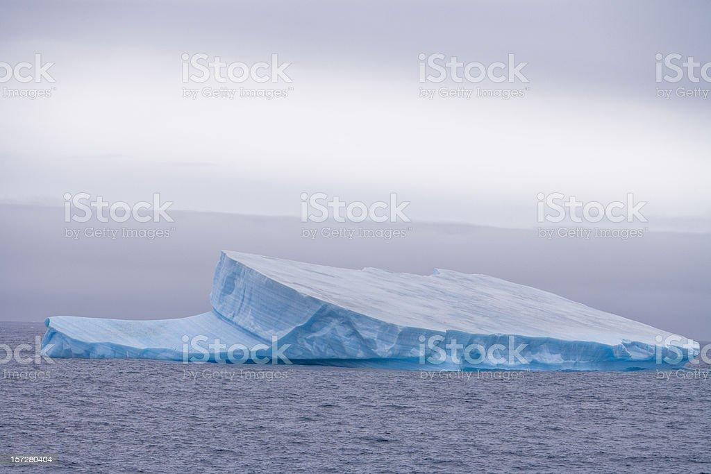 Antarctica Tabular Iceberg stock photo