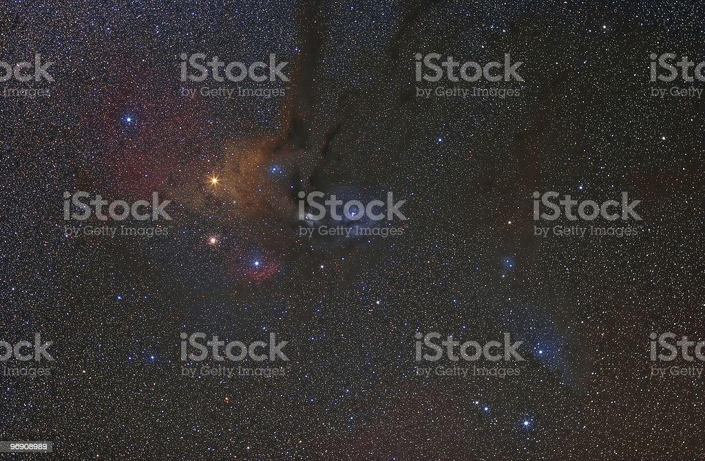 Antares Region royalty-free stock photo