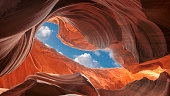 Images from Upper and Lower Antelope Canyon, Arizona