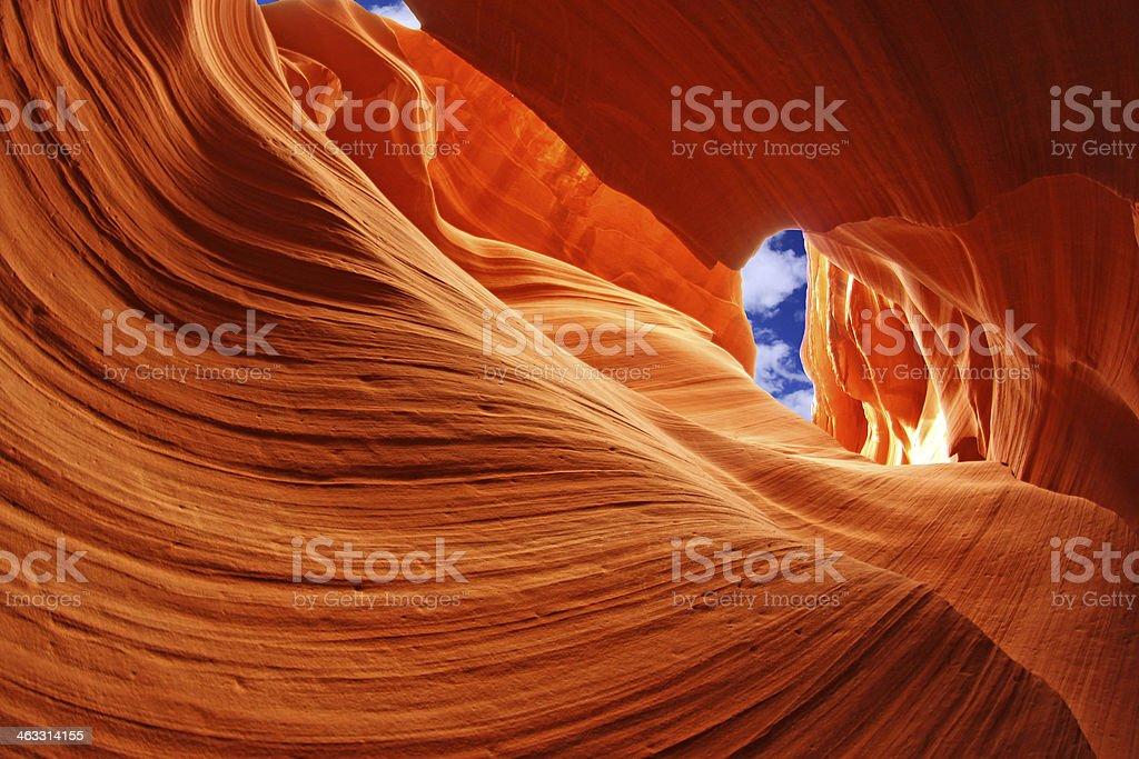 Antelope Canyon, Arizona, USA royalty-free stock photo