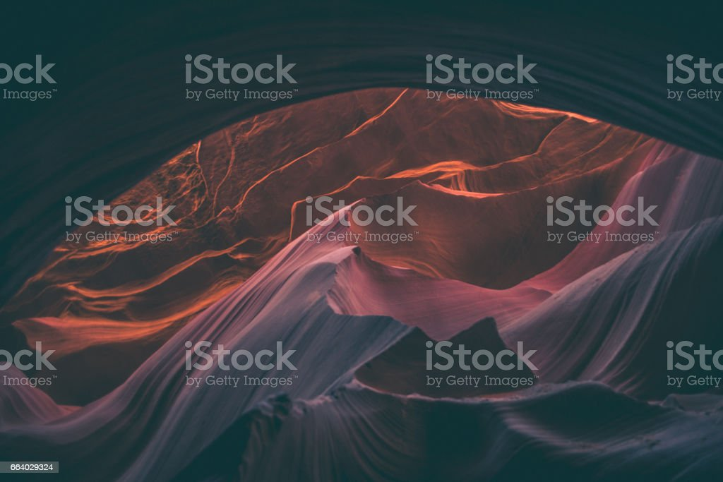 Antelope Canyon, Arizona, USA stock photo