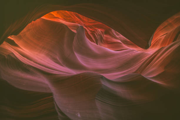antelope canyon, arizona, usa - lower antelope canyon stock photos and pictures