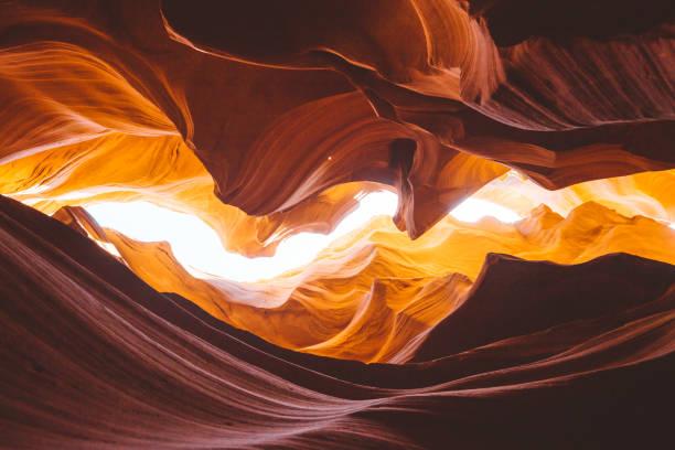antelope canyon, arizona, usa - upper antelope canyon stock photos and pictures