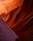 This is one of the spots in the deep slot canyon  of Lower Antelope in Arizona.