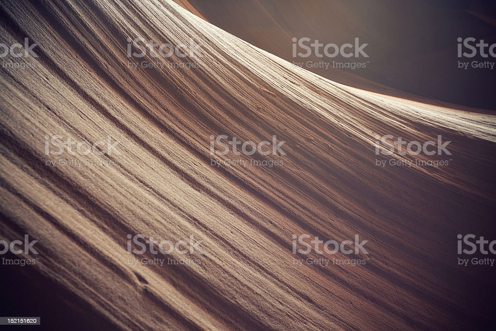 Antelope canyon curve royalty-free stock photo
