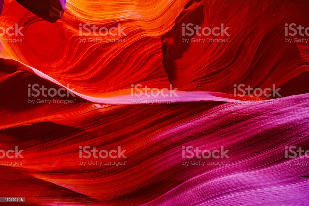 Antelope Canyon Formation stock photo