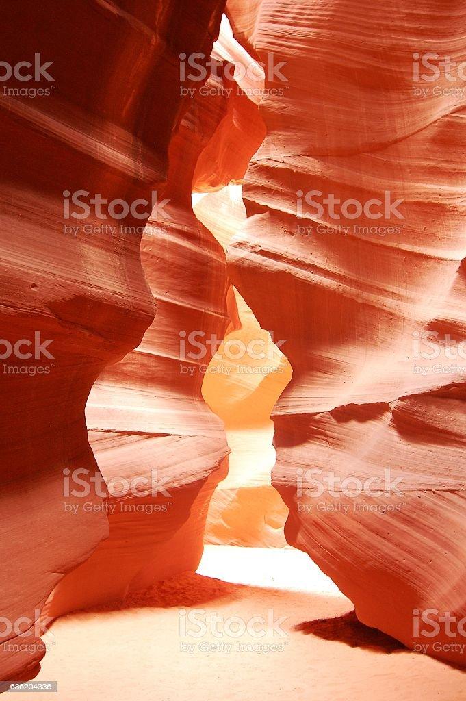 Antelope Canyon impression stock photo