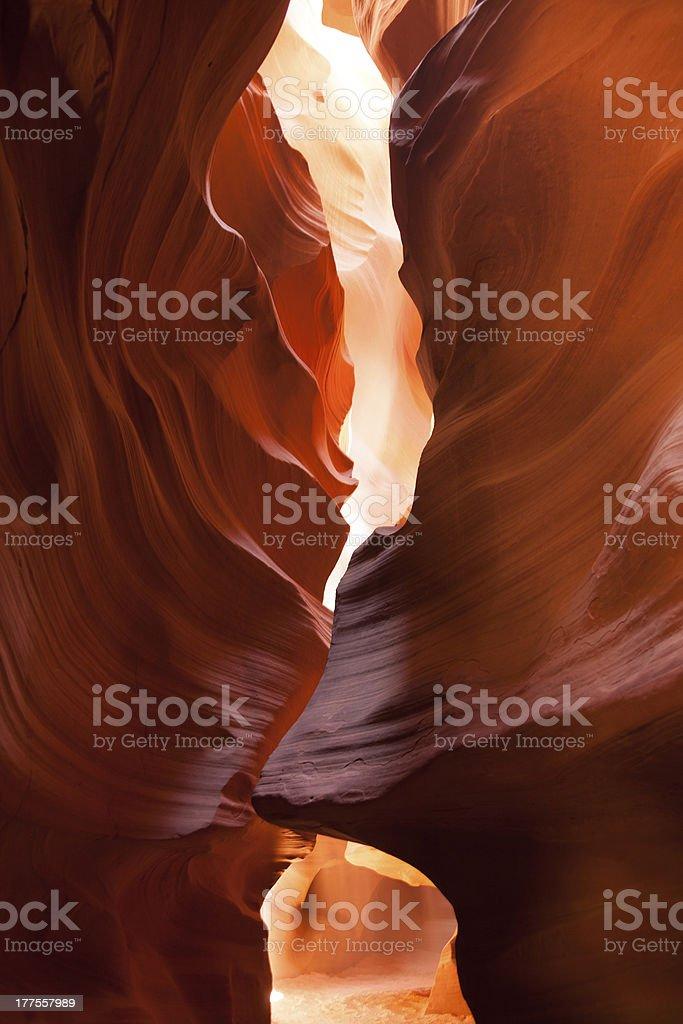 Antelope Canyon in Page, Arizona stock photo