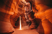 A wall from Antelope Canyon