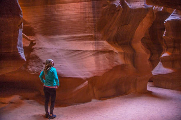 antelope canyon - upper antelope canyon stock photos and pictures