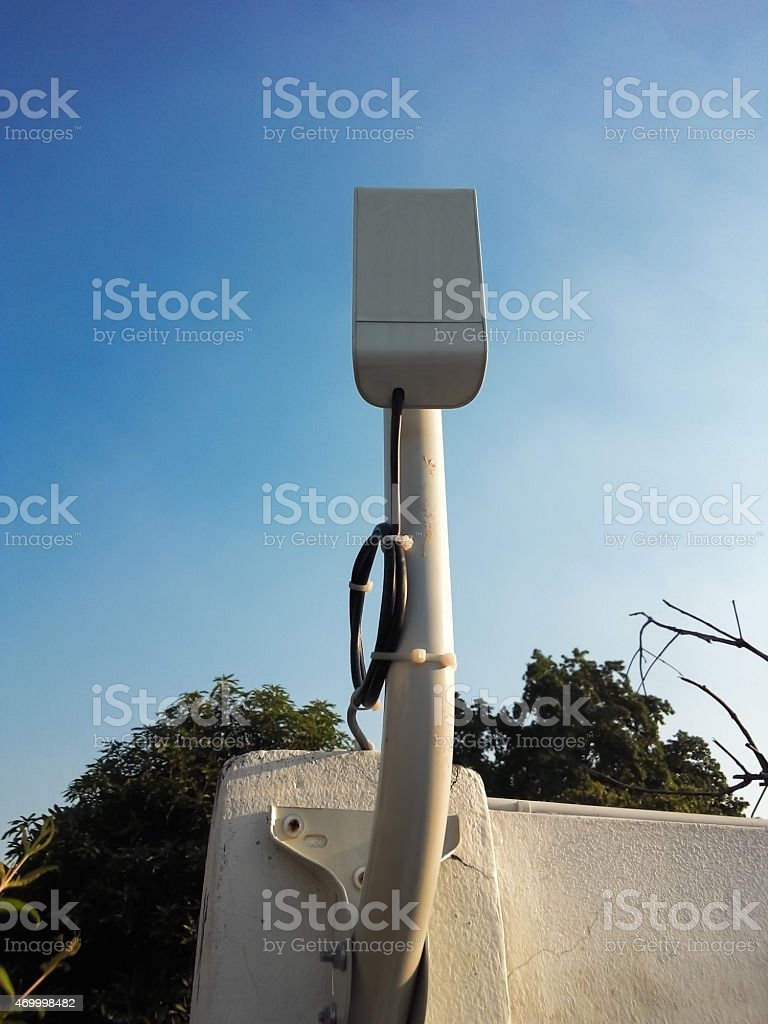 Wifi Antenna Closed Uphome User Stock Photo & More Pictures of 2015