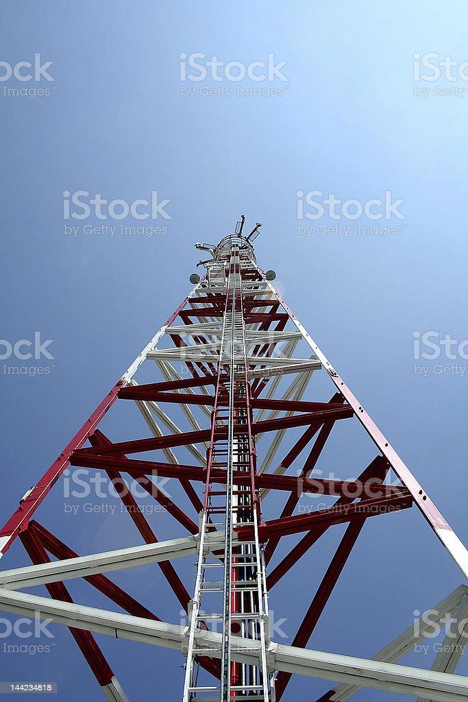 Antenna GSM royalty-free stock photo