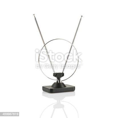 istock TV antenna isolated 459967819